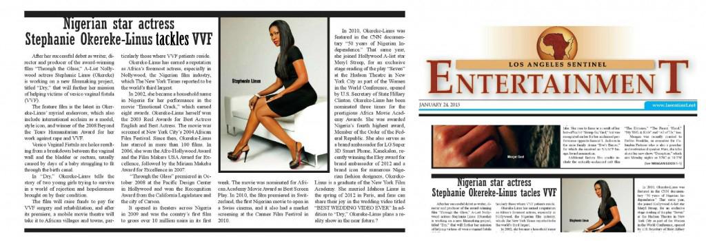 SL in LA Sentinel Entertainment