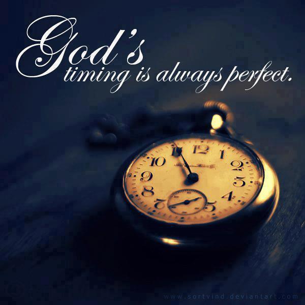 Gods timing steph