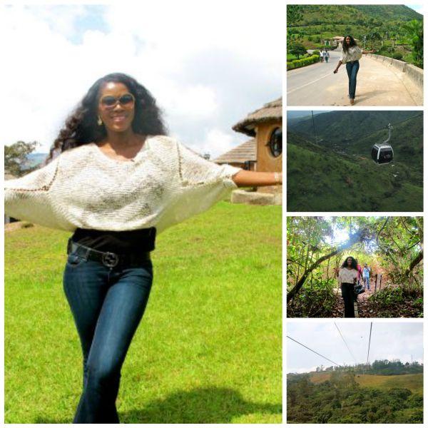Stephanie at Obudu Ranch 1