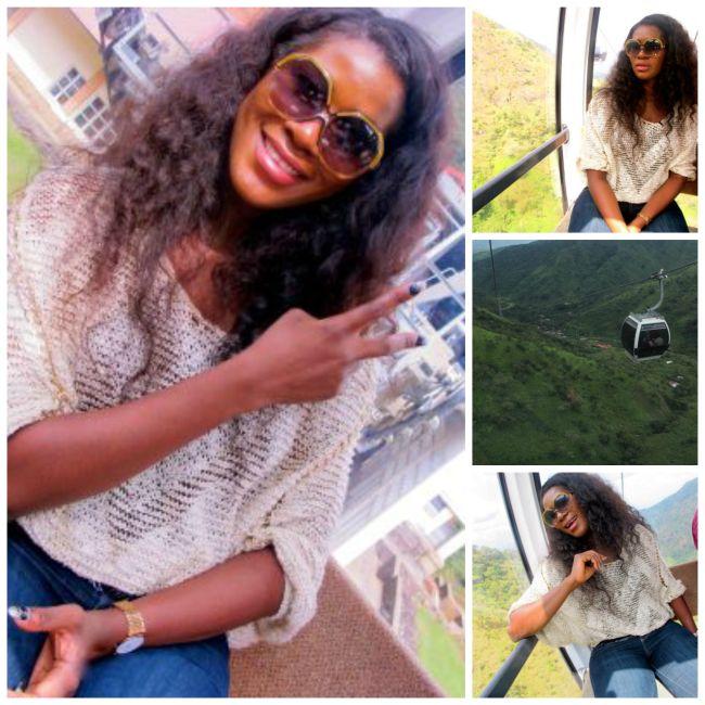 Stephanie at Obudu Resort 3