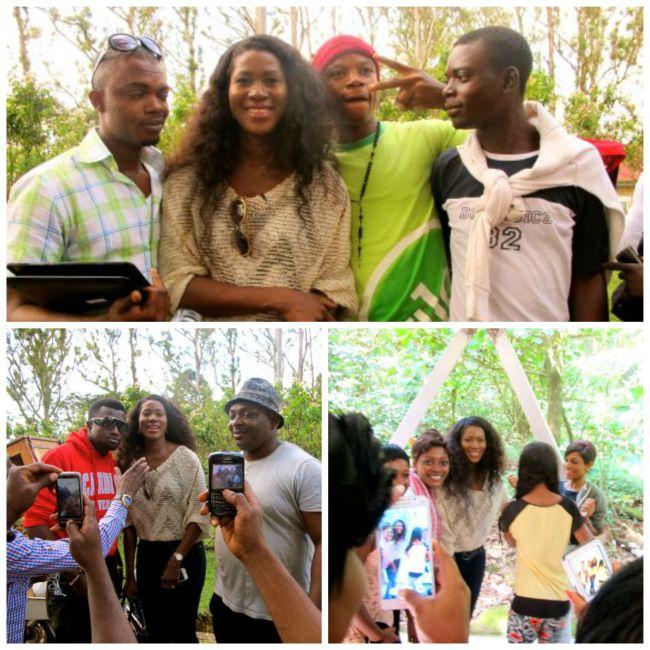 Stephanie at Obudu Resort 5