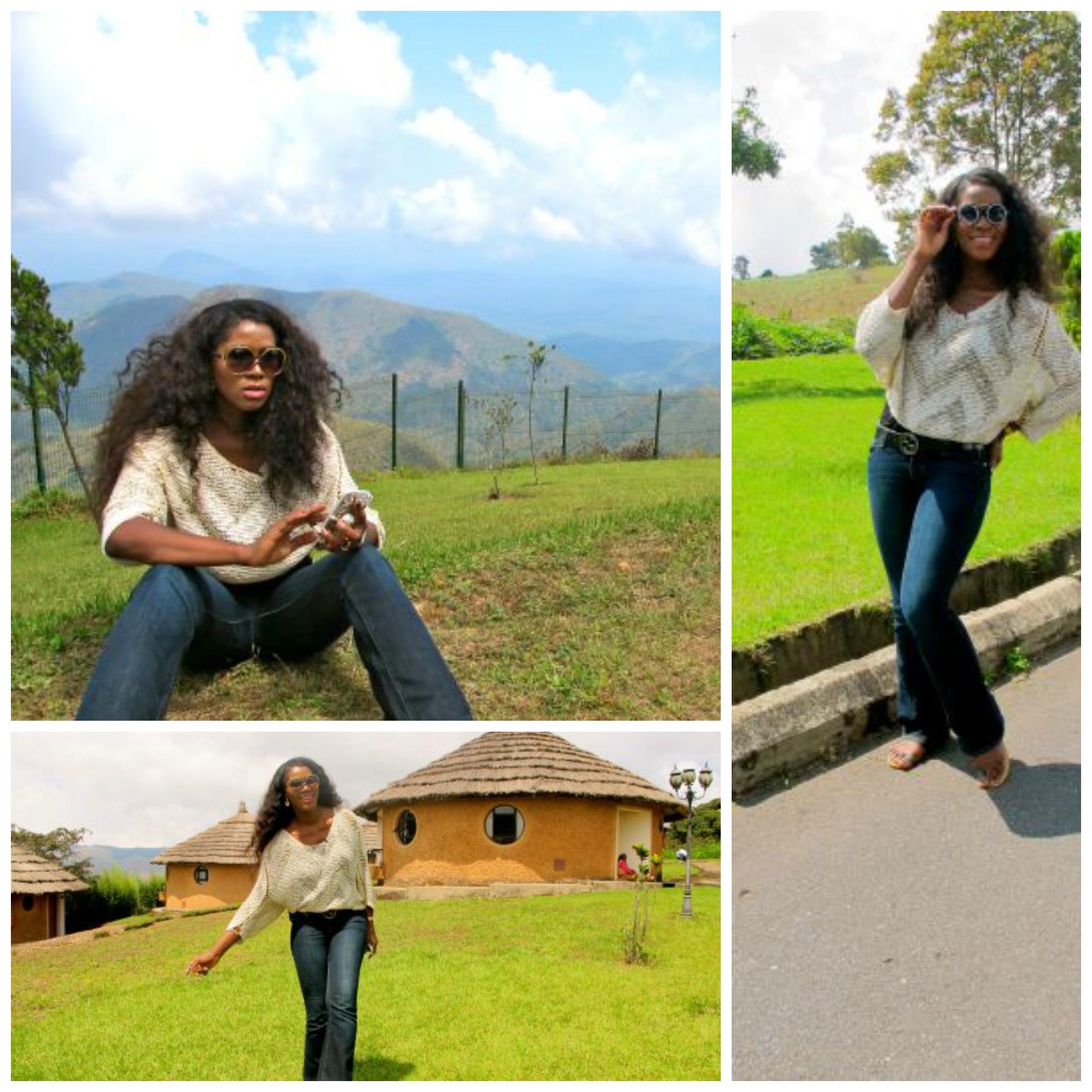 Stephanie at Obudu Resort 7
