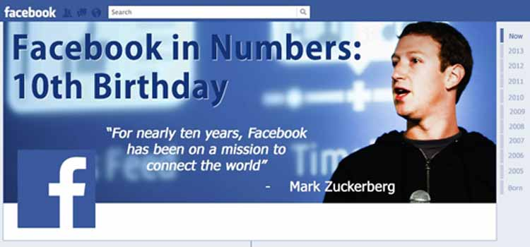 Facebook is 10