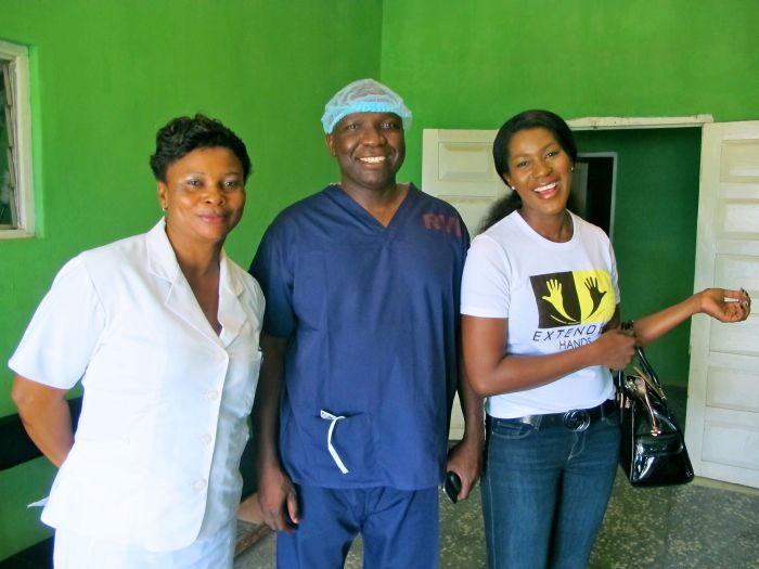 Stephanie Linus' Extended Hands Foundation VVF Project001