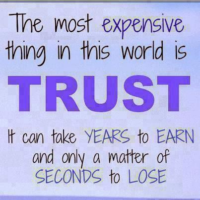 Trust in family relationships