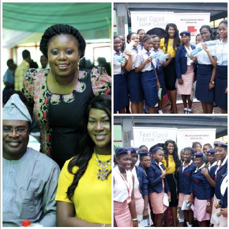 Thanks to Mrs Yinka Ogunde of Edumark, Dr Leke Pitan, Toyosi Akerele, Tonye Cole, Mrs Olufunso Amosun and all the wonderful role models and students who made it such a pleasant event!