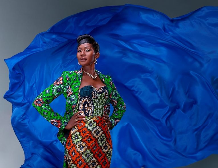 Stephanie Okereke-Linus Vlisco 3