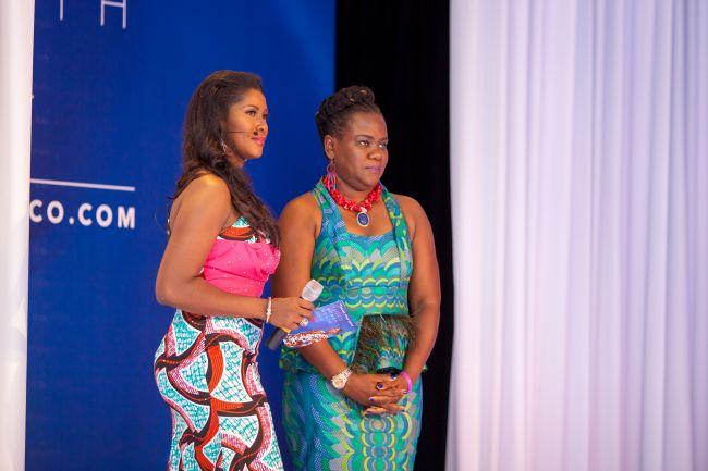 Stephanie Linus at Vlisco Event in Ghana - StephanieDaily003