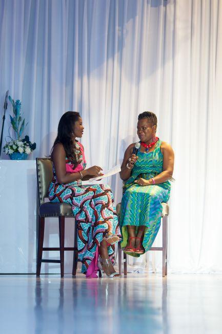 Stephanie Linus at Vlisco Event in Ghana - StephanieDaily004