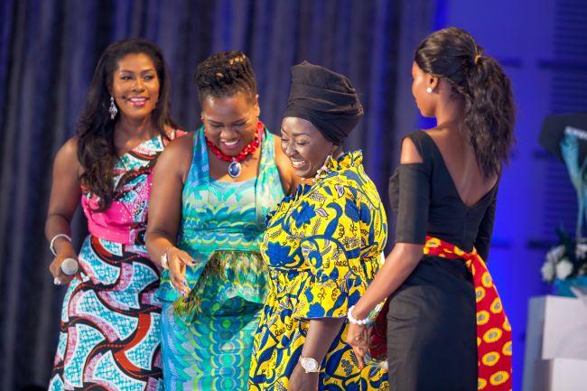 Stephanie Linus at Vlisco Event in Ghana - StephanieDaily005