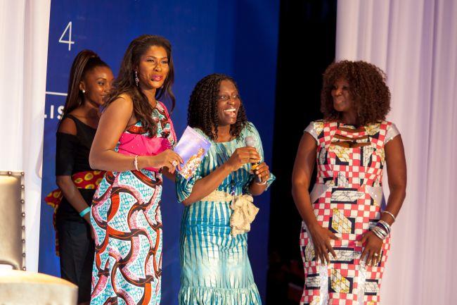 Stephanie Linus at Vlisco Event in Ghana - StephanieDaily007