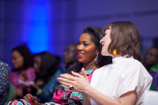 Stephanie Linus at Vlisco Event in Ghana - StephanieDaily009