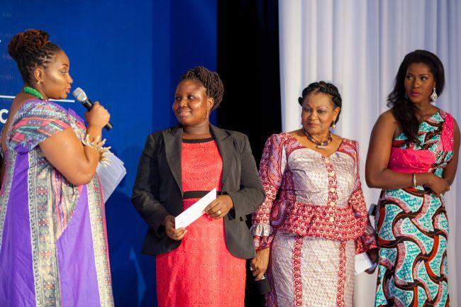 Stephanie Linus at Vlisco Event in Ghana - StephanieDaily010