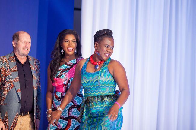 Stephanie Linus at Vlisco Event in Ghana - StephanieDaily011