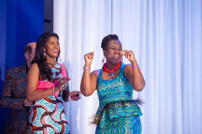 Stephanie Linus at Vlisco Event in Ghana - StephanieDaily012