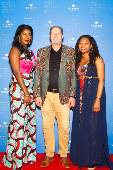 Stephanie Linus at Vlisco Event in Ghana - StephanieDaily013