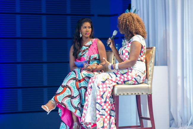 Stephanie Linus at Vlisco Event in Ghana - StephanieDaily014