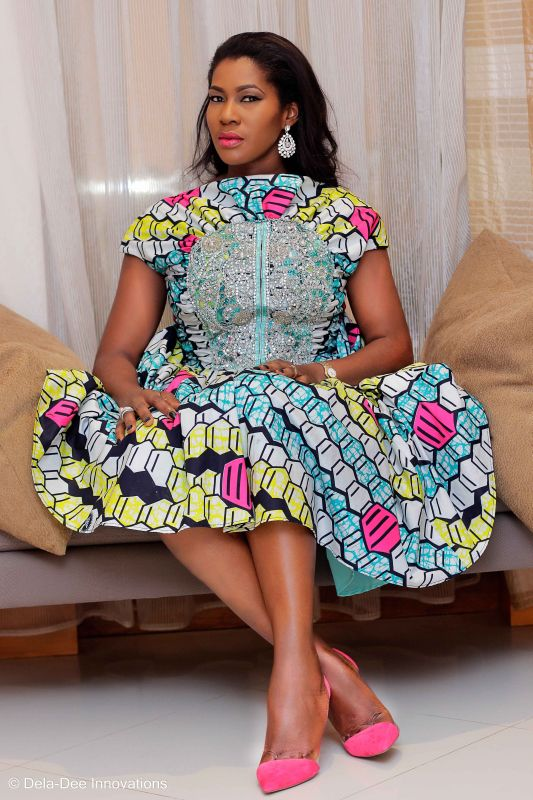 Stephanie Linus at Vlisco Women's Month Award Night026