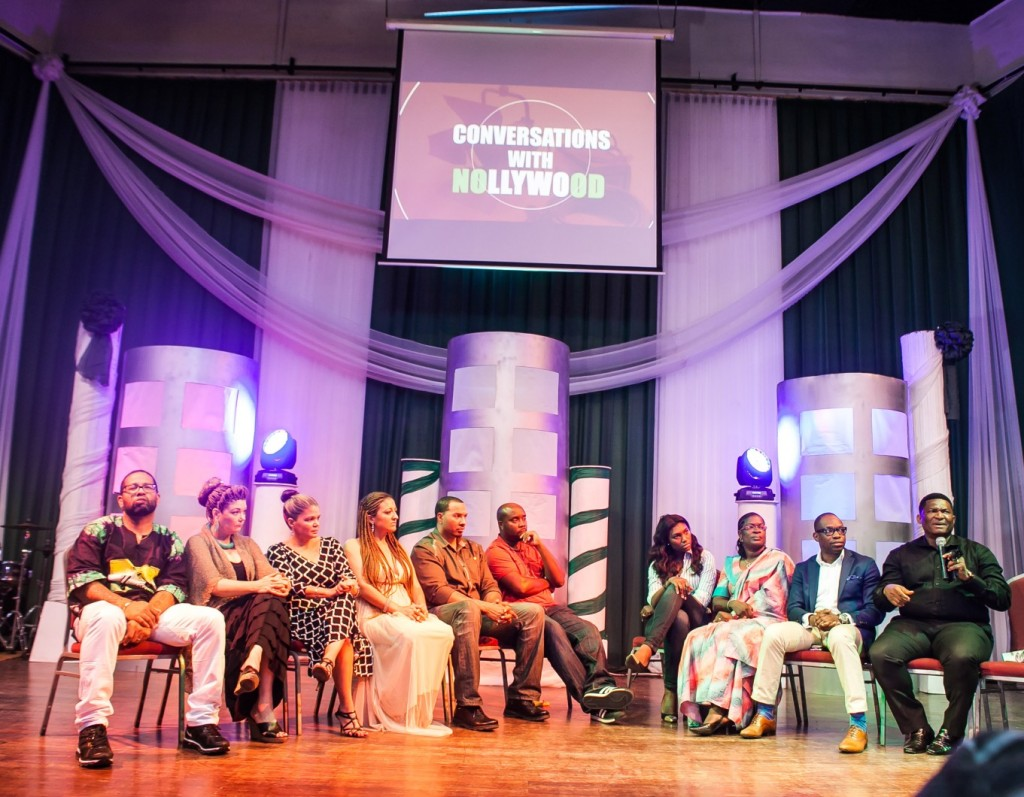 Cross Section of stakeholders from Hollywood and Nollywood during the forum Conversations with Nollywood