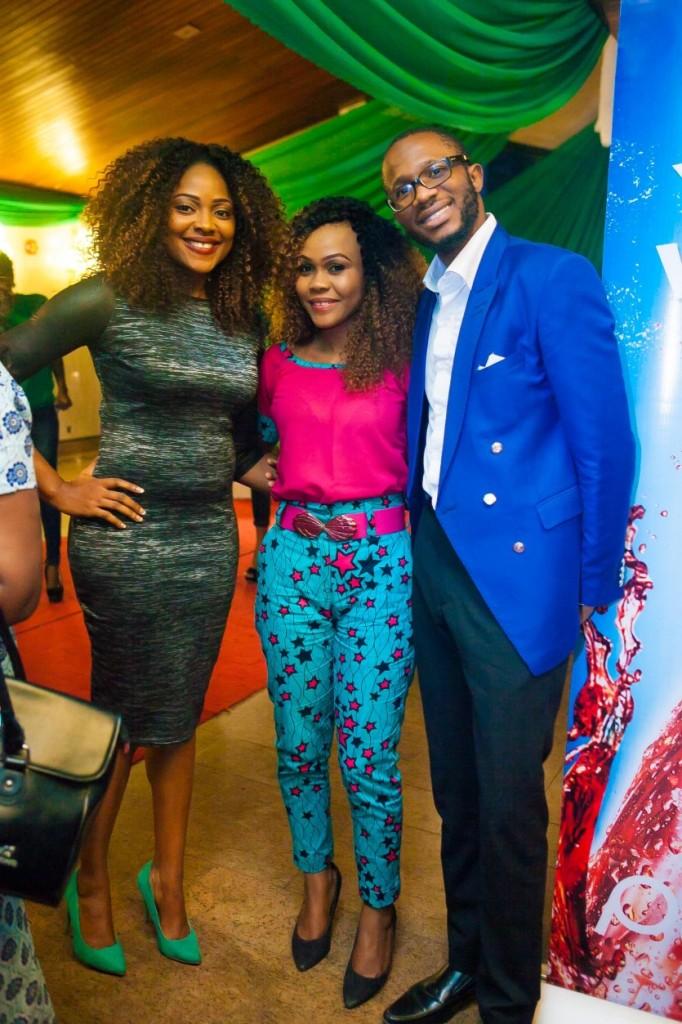 Mary Lazarus, Tamara Eteimo & James Omokwe