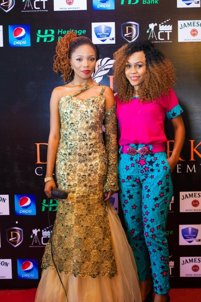 Queen Martins and DCA Alumni & Nollywood Actress Tamara Eteimo