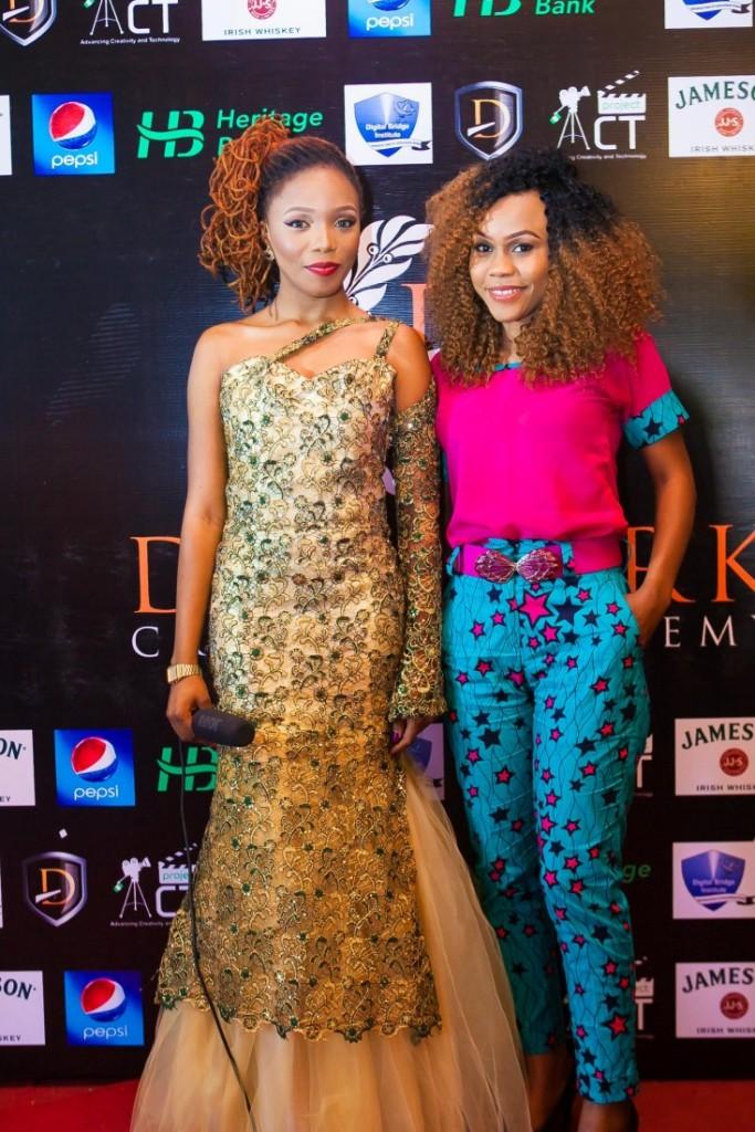 Queen Martins and DCA Alumni & Nollywood Actress Tamara Eteimo