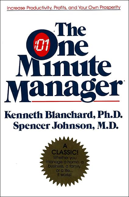 If you're going to read one management book in your life, this should be it. It's simple. And the advice works.