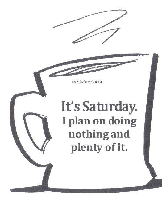 Funny Saturday Quotes: Fun Saturday Quotes That Would Make You Enjoy Your Day