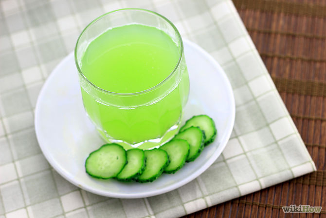 10. Pour the cucumber juice into glasses, chill, and serve. You can also store fresh cucumber juice in a sealed container inside the refrigerator for one week.
