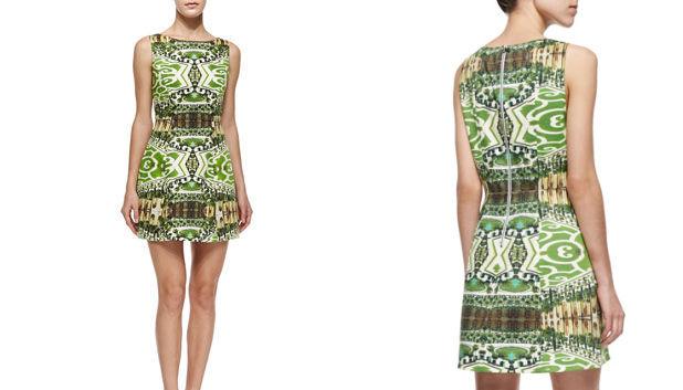 printed dress 1