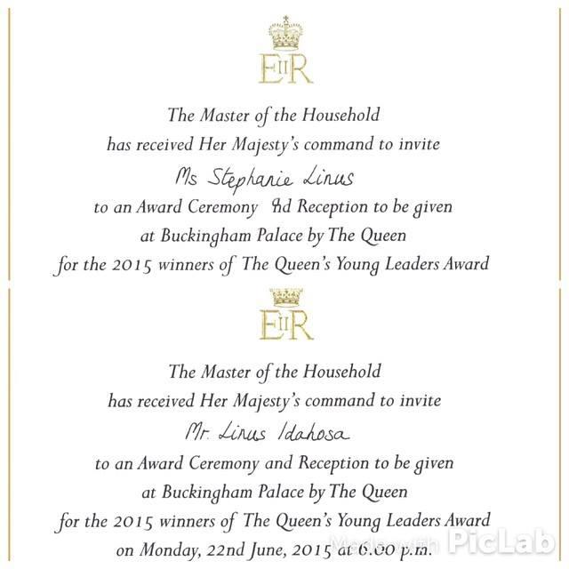 Here's a copy of my invite!