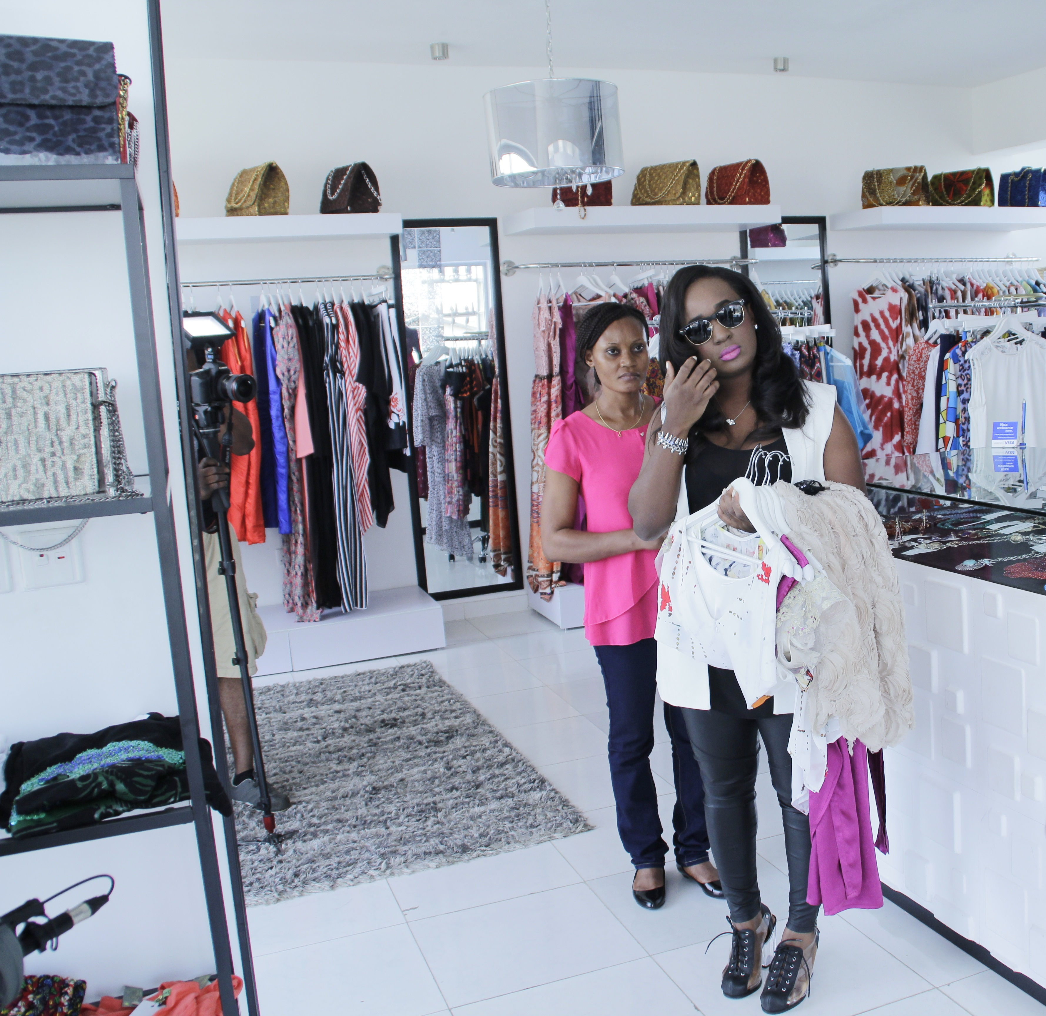 And luckily, we had Celebrity Stylist Bubu Ogisi to help make the right choices.