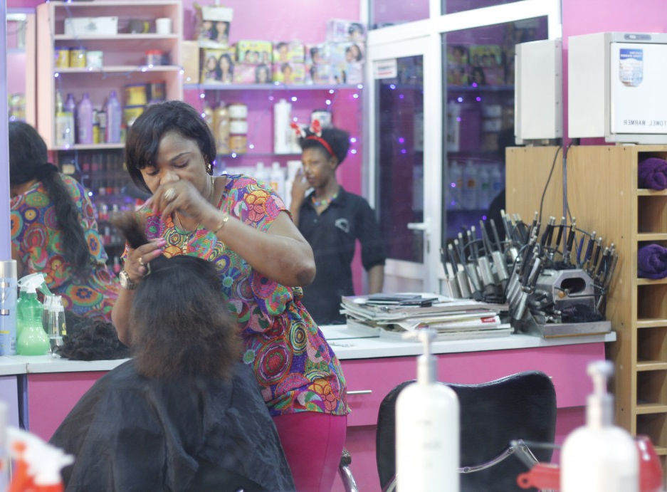Joan needs that special touch on her hair and there's no better person to do the job than Celebrity Hair Stylist Nancy.