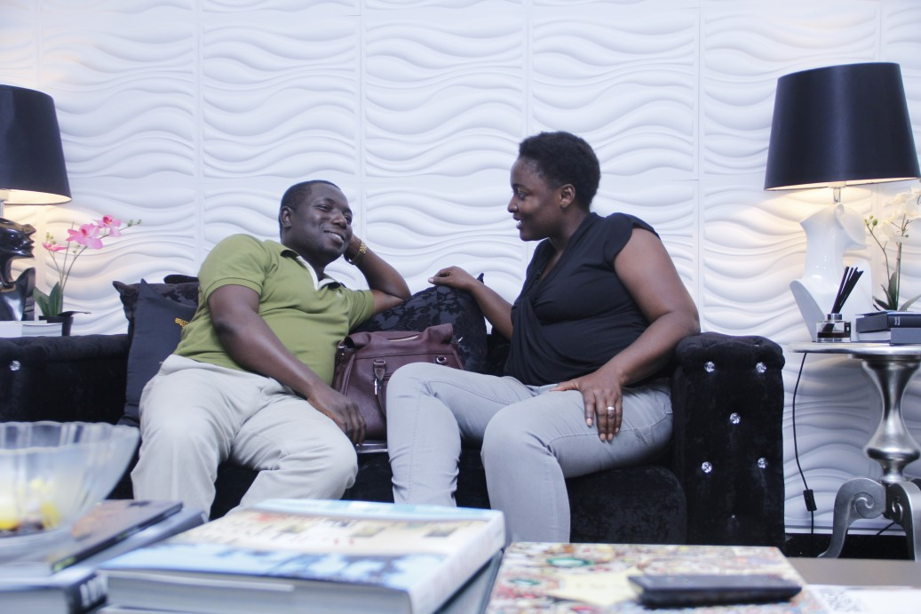 Next, Folashade catches up with her husband at the Oasis Med Spa for a relaxed spa session.