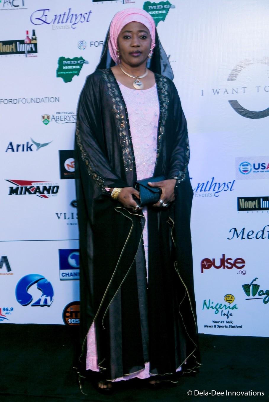 Hauwa Maina (played the role of Hadiza)