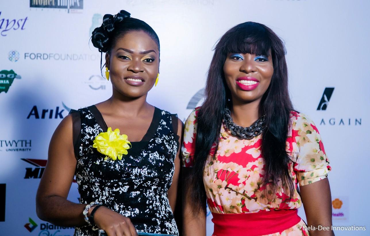 Chioma Okereke & a friend