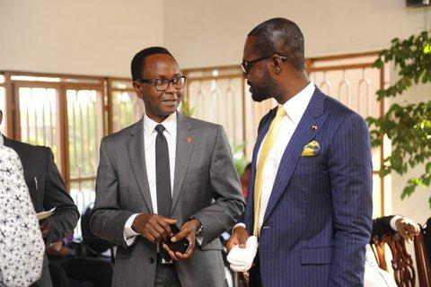 CEO Del-York, Mr. Linus Idahosa and MD UBA Zambia Mr. Stanley Ugwueze