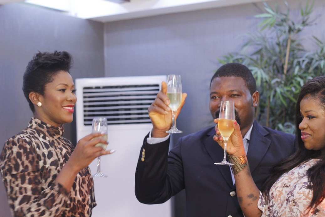 Just before we left, we shared a toast to happiness and fabulousity!