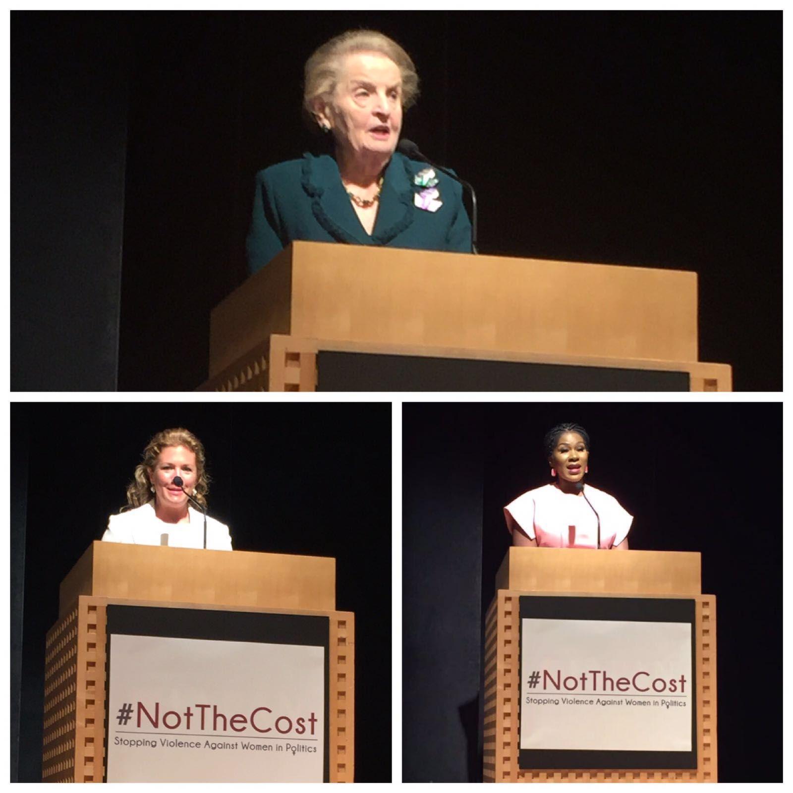 Madeleine K Albright, Sophie Grégoire Trudeau & Stephanie Linus