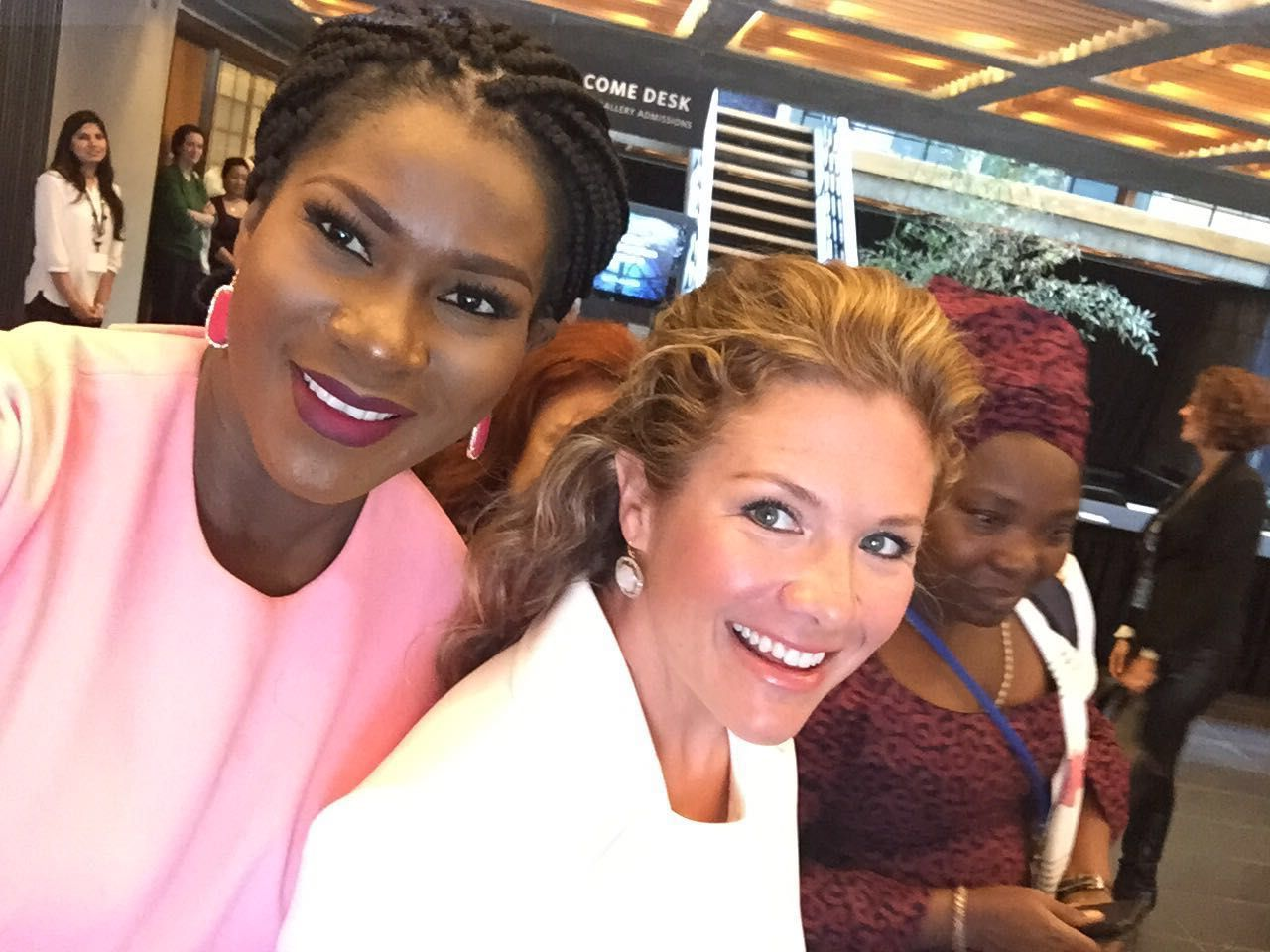 Stephanie Linus & Sophie Grégoire Trudeau, Canadian First Lady