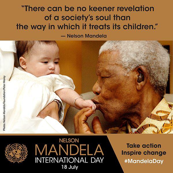 Nelson Mandela International Day 18 July